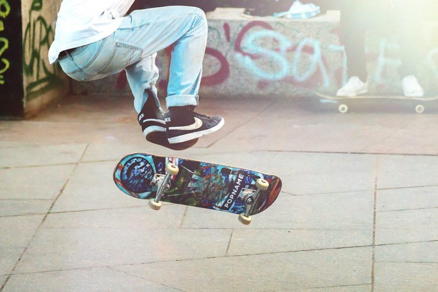 skateboard-skatepark