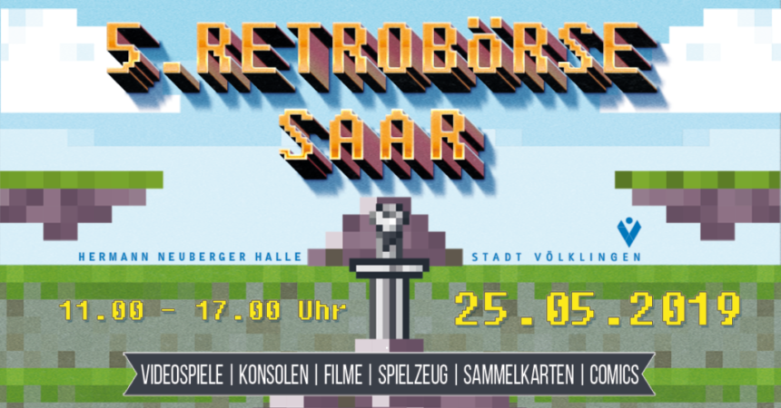 5. Retrobörse Saar –  Die RetroConvention im Saarland