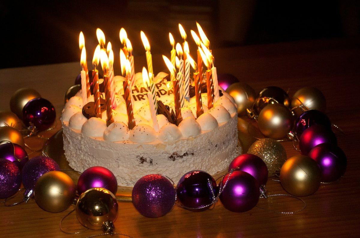 45. Geburtstag Kuchen